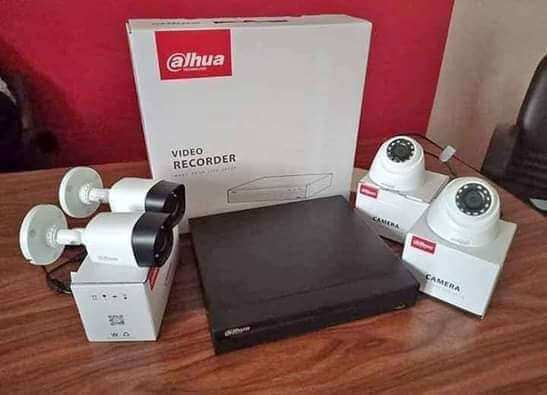 سيستم كامل 4 كاميرات مراقبة